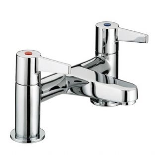 Bristan Design Utility Lever Contract Bath Filler/mixer taps